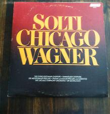 SOLTI CHICAGO WAGNER on Vinyl (store#1320)