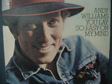 ANDY WILLIAMS YOU LAY SO EASY ON MY MIND LP
