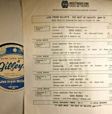 RADIO SHOW: BEST OF GILLEY'S LIVE 10/20/86 ANNE MURRAY,RESTLESS HEART, OAK RIDGE