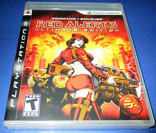 Command & Conquer: Red Alert 3 -- Ultimate Edition Sony PlayStation 3 (PS3) New!