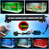 RGB Remote Color Changing LED Fish Tank Light Submersible Air Curtain Aquarium