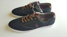 Baby Phat Womens Black Pink Casual Canvas Shoes Flats Casual Sneakers Size 10