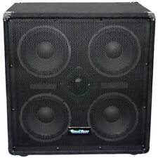Seismic Audio NEW 4x8 Bass Guitar Speaker Cabinet w/Horn 500 Watt Cab