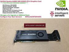 NVIDIA Quadro K4000 3GB GDDR5 PCI-E Graphics Card