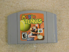 Mario Tennis (Nintendo 64 N64) Good Labels Authentic Cartridge Cart Sports