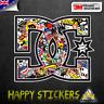 DC Sticker Bomb Graffiti Car Skateboard 3M Reflective Vinyl Decal Sticker