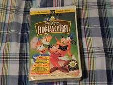 Fun and Fancy Free + Bambi + (VHS x 2) Disney Masterpiece - Clamshells) *NEW*