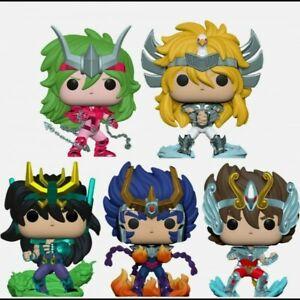 -=]FUNKO - POP! Animation Saint Seiya Set completo 5 Cavalieri dello Zodiaco[=-