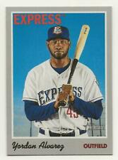 Yordan Alvarez 2019 Topps Heritage Minor League Fresno Express CARD #59 Astros