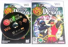 """Nintendo Wii juego """"Legend of the Dragon en el hechizo del dragón"""" completamente"""