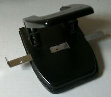 Black Officemax 2 Hole Punch