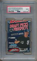 2009 Bowman BB Draft Picks Prospects Factory Sealed Hobby Foil Pack PSA 9