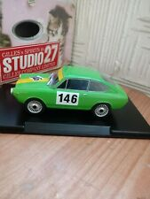 Fiat 850 Coupe 1965 Damage Blister Box Light Blue Met EDICOLA 1:24 ABMFA002
