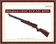 Beeman Chief Hardwood .Rare 22 Cal PCP Air Rifle , Brand New. German Engineered