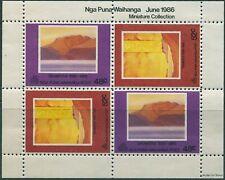 New Zealand Cinderella 1986 Nga Puna Waihanga Post Tarawera MS MNH