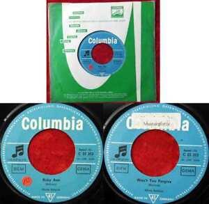 Single Marty Robbins: Ruby Ann (Columbia C 22 353) D Musterplatte