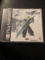 Final Fantasy VII Sony PlayStation 1 PS1 1997 Black Label No Manual