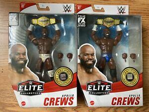 WWE ELITE COLLECTION SERIES 87 APOLLO CREWS ORIGINAL & CHASE VARIANT VERSION