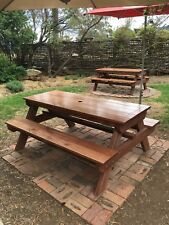 Timber Outdoor Setting Picnic Table Brand New 1.8 Metres