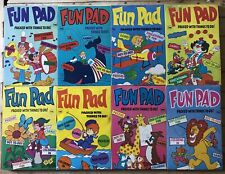 Fun Pad Lot Of 8 Packed With Things To Do Prestige Books 1976 Vintage