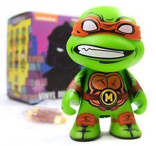 "Kidrobot TMNT SERIES 2 SHELL SHOCK MICHELANGELO 3"" Teenage Mutant Ninja Turtles"