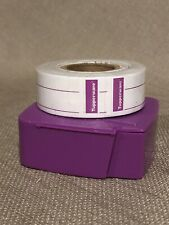 Tupperware New Roll Of Freezer  & Canning Labels Purple Dispenser