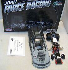 1:24 ACTION FUNNY CAR 2011 CASTROL 15X CHAMPION JOHN FORCE STEALTH AUTOGRAPHED