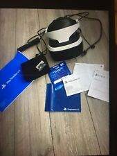 Ps4 Vr Headset Includes Camera.Like  new used once