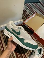 Nike Air Max 1 Green Aura Uk9/us10 Confirmed Order Lot Evergreen