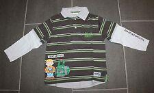Tolles Hemd Shirt in khaki Streifen mit Bob der Baumeister in Gr. 110 von C&A