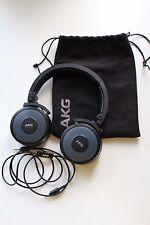 AKG Y55 Black HIGH-PERFORMANCE DJ headphones with IN-LINE MIC & REMOTE