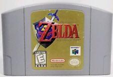 Legend of Zelda Ocarina of Time (Nintendo 64, 1998) N64 *TESTED VG Cartridge