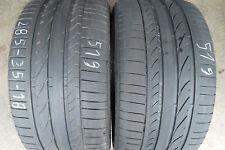 2 x Bridgestone Potenza RE050A 285 35 18 97Y MO
