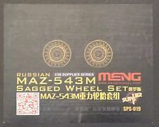 MENG MODEL SPS-019 Sagged Wheel Set for Russian MAZ-543M in 1:35