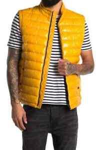 Hugo Boss Men Cilla Sleeveless Jacket Water Repellent Padded Gilet Vest by BOSS