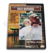 Okinawan Goju Ryu Karate Self Defense Dvd Teruo Chinen Bunkai Oyo katas How To