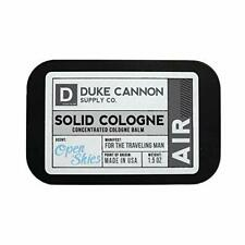 Duke Cannon Men's Solid Cologne, Air for the Traveling Man, Open Skies, 1.5 Oz