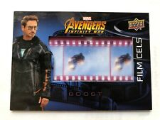 Marvel Upper Deck Avengers Infinity War Iron Man Film Cell FC23