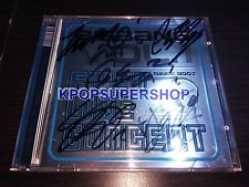BigBang Vol. 1 First Live Concert The Real Autographed Signed Promo CD Great