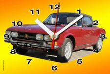 Voitures de tourisme miniatures rouges Peugeot