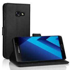 Samsung Galaxy A5 2017 Leder Hülle, Simpeak Flip Wallet Cover Case Standfunktion