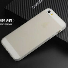 For Iphone 4S 5 5S TPU Matte Soft Gel skin Case Cover
