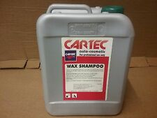 Cartec Wax Shampoo   5 litre     Concentrated Wash & Wax Car Cleaner Detergent