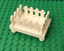 Lego White Baby Crib / City Nursery Interior / Home Maker Furniture Play Bed