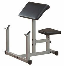 Powerline PPB32X Preacher Curl Bench Home Gym Bicep Exercise Fitness Equipment