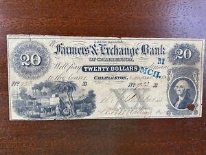 $20 Farmers & Exchange Bank - Charleston SC