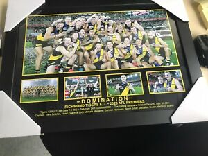 richmond tigers 2020 premiers  Domination   Framed