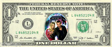 Doctor Who Design #2 (TARDIS) Dollar Bill {In Color} - REAL Spendable Money!