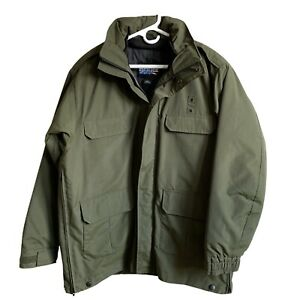 Blauer Size L Green TacShell Jacket Tactical Outerwear Police Fire Outdoors EUC