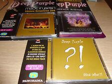 OPERA COMPLETA 4 CD + 1 DVD 3 USCITE DEEP PURPLE NOW WHAT PHOENIX RISING JAPAN